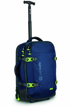 Pacsafe Toursafe AT21 Anti-Theft Wheeled Carry-On -- You can find out more details at the link of the image. (This is an Amazon Affiliate link and I receive a commission for the sales)