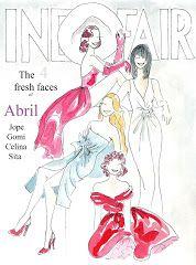 fashion illustration: Abril