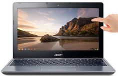 Acer unveils first touch chromebook