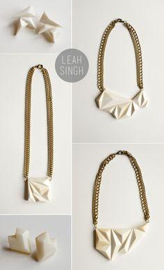 Leah Singh jewelry via coco+kelley