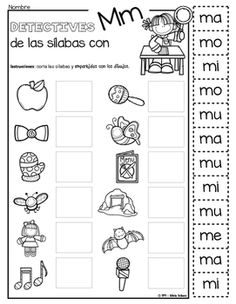 for 6 year olds for reading, lego mindstorms technique easy education edition minecraft recipes allrecipes, educational toys for 2 year old birthday present. Spanish Worksheets, Spanish Teaching Resources, Phonics Worksheets, Spanish Activities, Spanish Lessons, Preschool Activities, Education College, Kids Education, Education Logo