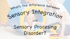 Ever wondered what the difference between sensory processing disorder and sensory integration is?  GriffinOT explores this question.