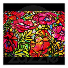Poster-Stained Glass-Tiffany 28