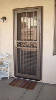 Steel Gate Design, House Gate Design, Door Gate Design, Front Door Design Wood, Grill Door Design, Metal Gate Door, Craftsman Front Doors, Balcony Railing Design, Steel Security Doors