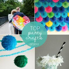 10 Top DIY Party Crafts. definitely a must-know