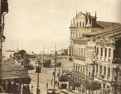 Largo do Theatro. Ao fundo, à direita o Theatro São João.