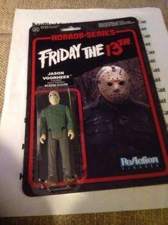 JASON-VORHEES-Horror-Classics-Series-Funko-ReAction-3-3-4-Figure-Friday-the-13th #ebay #sold #jason #jasonvorhees #fridaythe13th #funko #kenblackcat