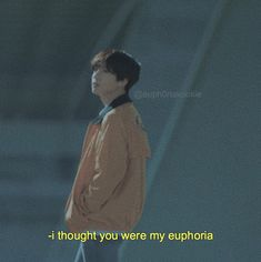 I thought i'll only be happy when im with u, i guess its wrong Bts Lyrics Quotes, Bts Qoutes, Frases Tumblr, Tumblr Quotes, Dark Quotes, Some Quotes, Bts Wallpaper, Wallpaper Quotes, Bts Texts