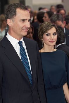 Royal Family Around the World: Spanish Royals Attend 'Ortega Y Gasset' Awards 2016 ceremony at the Palacio de Cibeles on May 5, 2016 in Madrid, Spain.