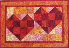 Quilted Valentine placemats Quilts For Sale, Custom Quilts, Table Toppers, Collaboration, Cotton Fabric, Display, Boutique, Pets, Board