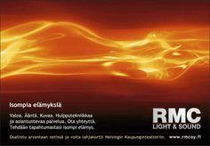 Teimme Ramin kanssa RMC:n mainonnan ja nettisivujen uudistuksen muutama vuosi sitten. Nyt he ovat näköjään julkaisseet uudistetut sivut (hienot), mutta onneksi suurin osa teksteistäni elää vielä!