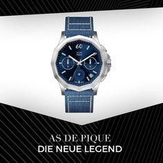 Die NEUE Legend Kollektion kommt... BESTE Qualität original schweizer Uhrwerk umfangreiche Funktionen 2 Jahre Garantie - 30 Tage Rückgaberecht Mehr auf -> www.asdepique.de