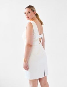Berlin in Ivory – Ava James NYC Plus Size Ivory Dresses c28894b69a16