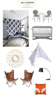 Baby Boy Nursery Des