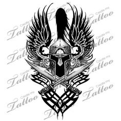 "Tattoo idea for my shoulder. Perhaps with the phrase ""Without valor, Freedom dies"" written in Greek"