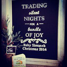 December baby announcement