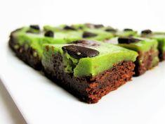 Vegan Peppermint Cheesecake Brownies