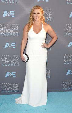 Pin for Later: Seht die Stars von einer anderen Seite bei den Critics' Choice Awards Amy Schumer in Calvin Klein