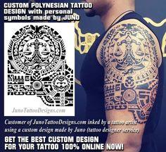Polynesian tattoo, samoan symbols, juno tattoo designs