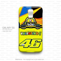 Valentino Rossi VR46 Logo Monster Yamaha Team Galaxy S5 Case