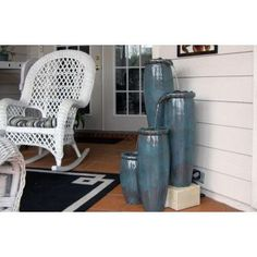 Visit The Home Depot to buy Kenroy Home Agua Indoor/Outdoor Floor Fountain Indoor Floor Fountains, Outdoor Fountains, Yard Ornaments, Submersible Pump, Nativity Crafts, Outdoor Flooring, Indoor Outdoor, Outdoor Decor, Bench With Storage