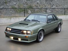 Clean 80's notch Ford mustang foxbody