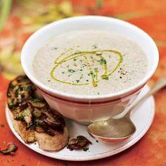 Recept - Romige paddenstoelensoep - Allerhande