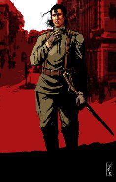 Red Dead Dragunov by CaptainBerunov on deviantART
