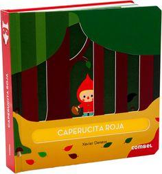 Combel. Nueva adaptación del cuento clásico de Caperucita Roja en una propuesta estética y sensorial de formas en relieve. Una colección pensada para que los niños y niñas descubran una nueva manera de interactuar con los clásicos de siempre.