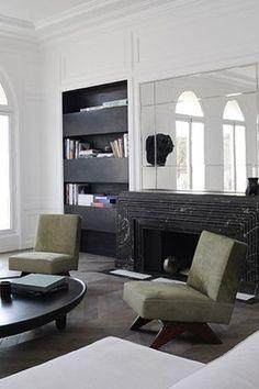 Sleek and modern living room