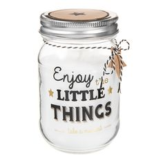 Bougie bocal H 12 cm LITTLE THINGS