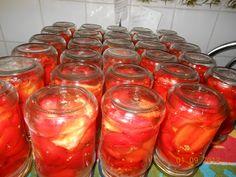 PAPRYKA MARYNOWANA UWAGA:  - zalewy nie gotujemy, - tak przygotowana papryka jest pyszna, bo zachowuje swój papryczny smak, - zalewę po zjedzonej papryce, można stosować jak ocet balsamiczny do sałatek i surówek…