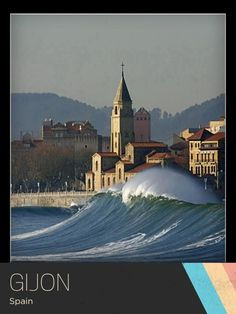 Wow, what a wave! Gijon, Spain