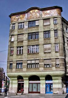 Budapest  -  Népszinház utca Róth Miksa által (Dudits Andor tervei alapján)…