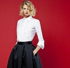 lässig elegantes weißes hemd damen
