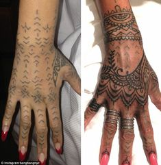Image result for rihanna sleeve tattoo