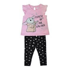 Tops For Leggings, Newborn Outfits, Baby Disney, Outfit Sets, Infant, Star Wars, Pajama Pants, Stars, Amp