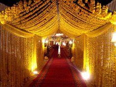 Soma Sengupta Indian Bridal Decoration- Romance of Marigold!