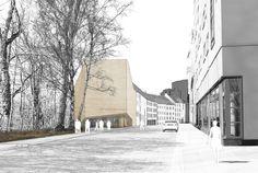 Neubau Sudetendeutsches Museum 1. Preis: pmp architekten, München
