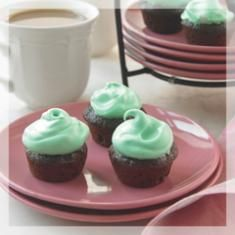 Itty-Bitty Minty Brownie Bites from the Biggest Loser Dessert Cookbook