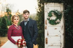 Christmas Tree Farm Inspiration Shoot - www.theperfectpalette.com - Designed by The Bride Link + Custom Love Gifts - JoPhoto