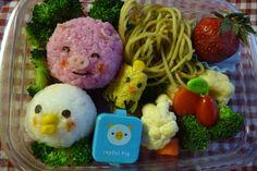 beneficial bento: Pig in the Mud Bento