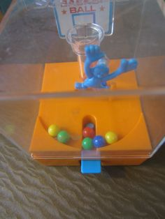 Vintage 1970s Basketball by Tomy Toy Made in Japan by kookykitsch, $18.00