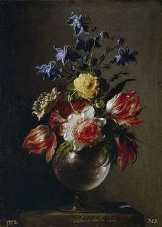 """""""Florero"""", Juan de Arellano, 1660-1670"""
