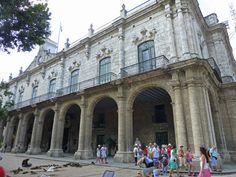 Palacio de los Capitanes Generales en la Plaza de Armas, sede del Museo de la Ciudad