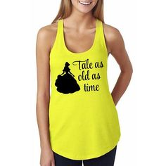 "Beauty and the Beast ""Tale as old as time"" Shirt // Disney's Belle Shirt Silhouette // Disney Princess Shirt // Disney Classic Movie Shirts"