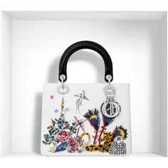 Dior s - Lady Dior Winter 2016 Embroidered Handbag 27cd75319d60a