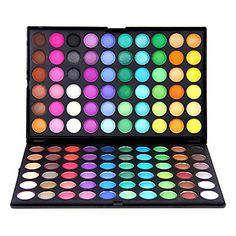 Dazzling, Matte and Shimmer 120 Colors Makeup Eye Shadow – USD $ 14.99