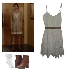 Emma Decody - Bates Motel by shadyannon on Polyvore featuring polyvore fashion style Abercrombie & Fitch Monsoon Timberland A.P.C. clothing