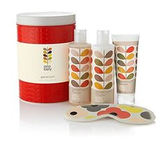 Orla Kiely Geranium Bath & Body Gift Set in Red Tin - NEW STOCK! by Orla Kiely Orla Kiely's Geranium bath and body range contains a blend of 10 essential oils, including  Read more http://cosmeticcastle.net/orla-kiely-geranium-bath-body-gift-set-in-red-tin-new-stock-by-orla-kiely/  Visit http://cosmeticcastle.net to read cosmetic reviews